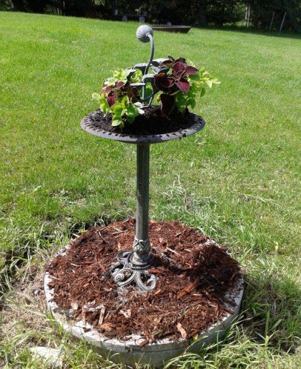 hide a septic tank cover with a removable garden jardin pinterest fosse septique. Black Bedroom Furniture Sets. Home Design Ideas