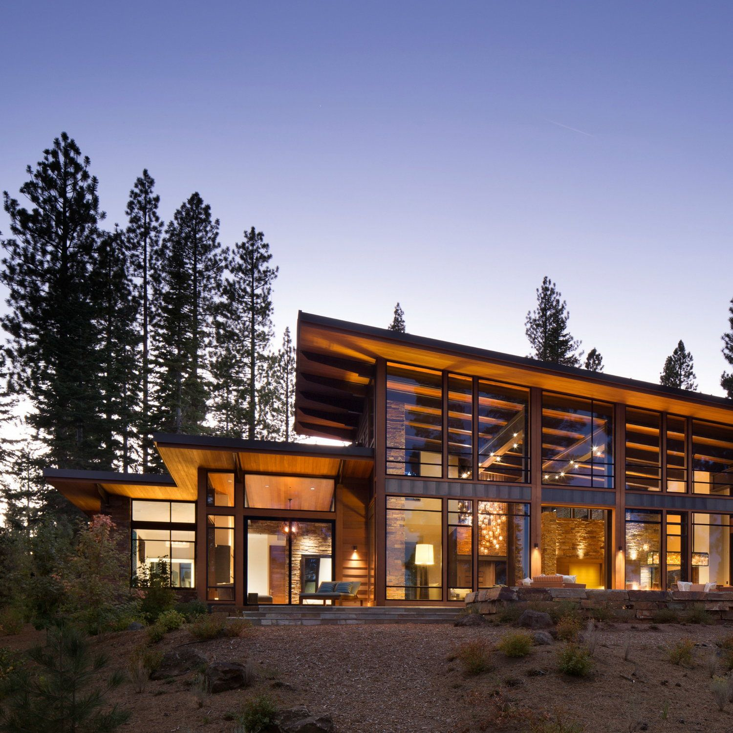 martis modern mountain home by ward young architecture pinterest