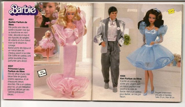 catalogue mattel barbie annee 80 - Google Search ...