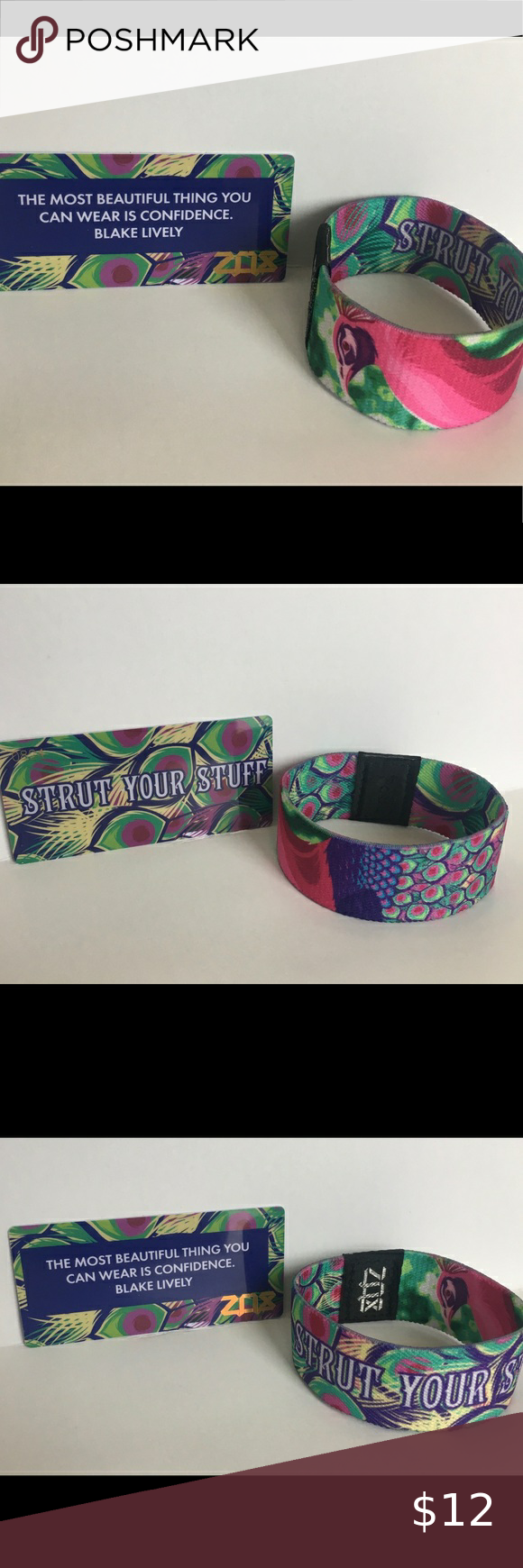 Zox Strut Your Stuff Wristband Like new condition, tried on  Size Medium  #0824 -does not come with plastic bag  Item comes from a smoke free home Zox Jewelry Bracelets