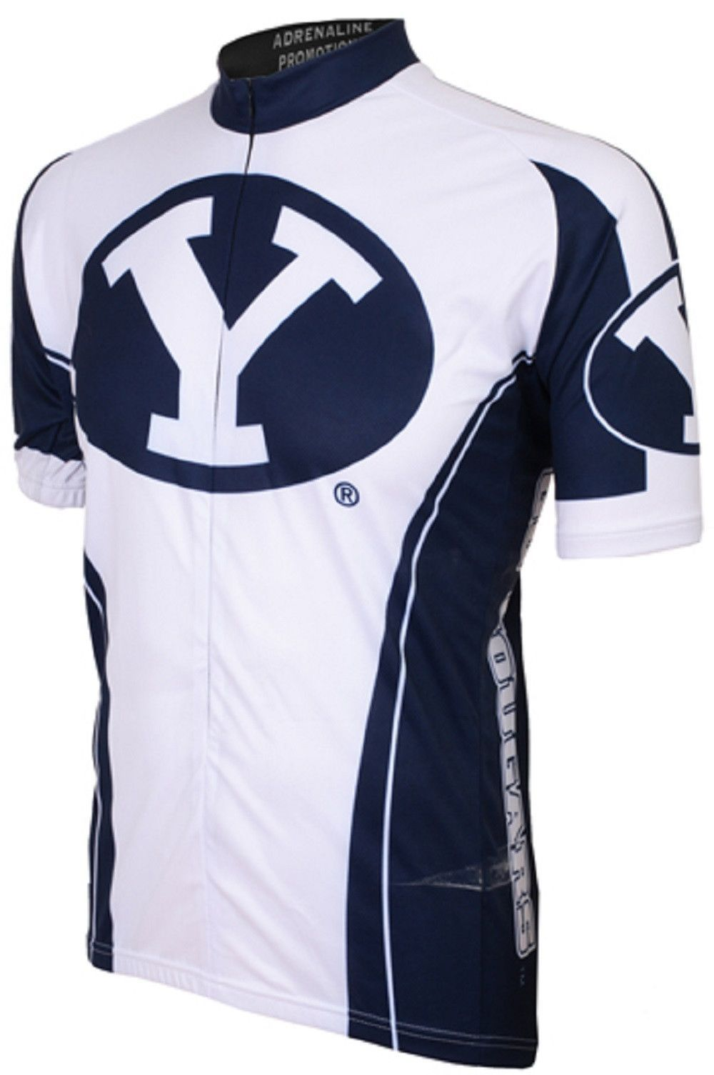 13bd8c864ae NCAA Men s Adrenaline Promotions BYU Cougars Road Cycling Jersey ...