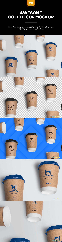Coffee Cup Mockup Free PSD Mockup, Coffee, Coffee cups