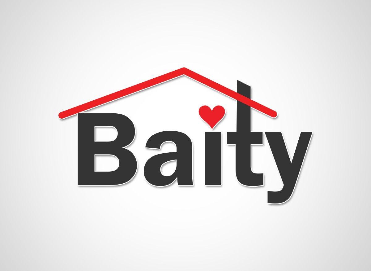 شعار بسيط ولكن في معناه كبير Baity هو عبارة اقتباس سقف المنزل أعلى الكلمة وتوظيف حرف T لتشكل مدخنه والنقطة لحرف I بش Gaming Logos Logos Nintendo Wii Logo