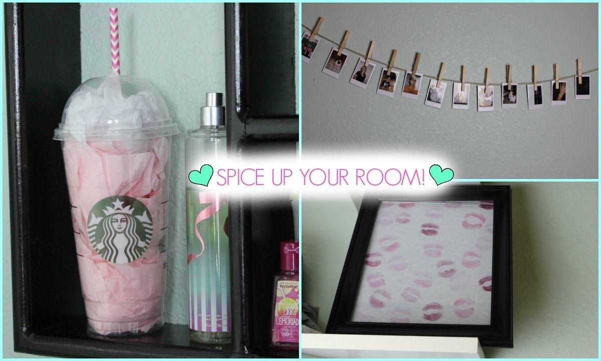 Quick Decorating Ideas diy | quick & easy room decor! | bedroom decor | pinterest