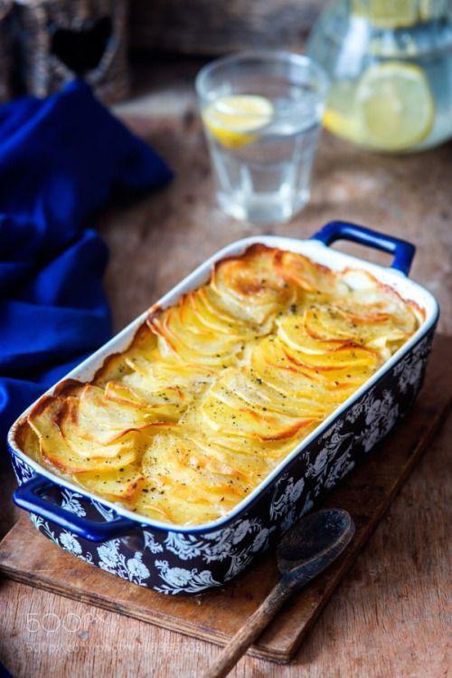 Potato gratin by Irina_Meliukh  IFTTT 500px