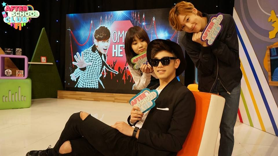 Kevin with Eric Nam and Jimin at ASC ♡