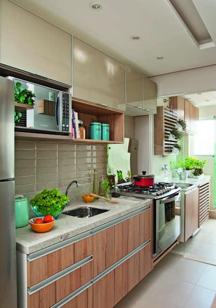 14 Cozinhas Estilo Corredor Praticas E Organizadas Decorar Cozinha