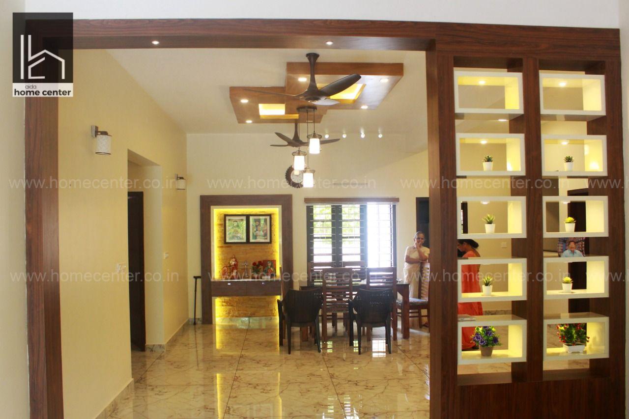 Best Interior Designers In Kottayam With Images Living Room Partition Design Room Partition Designs Interior Design Solutions