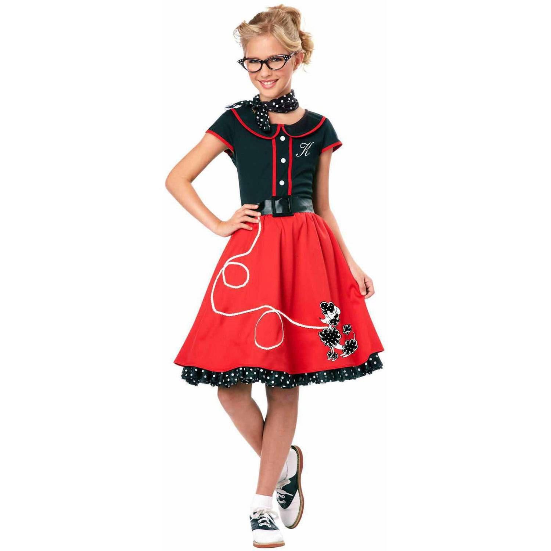 50's Sweetheart Girls' Child Halloween Costume Walmart