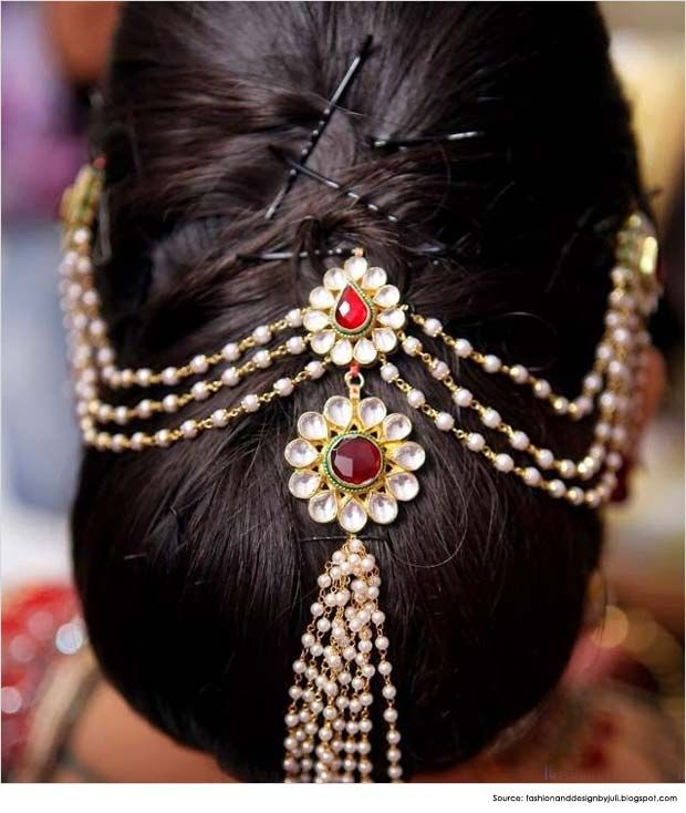 Fantastic Saree Buns And Wedding On Pinterest Hairstyle Inspiration Daily Dogsangcom
