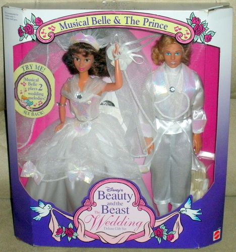 Disney Mattel Belle And Prince Wedding Set 1993 From Ebay Er Rini1029