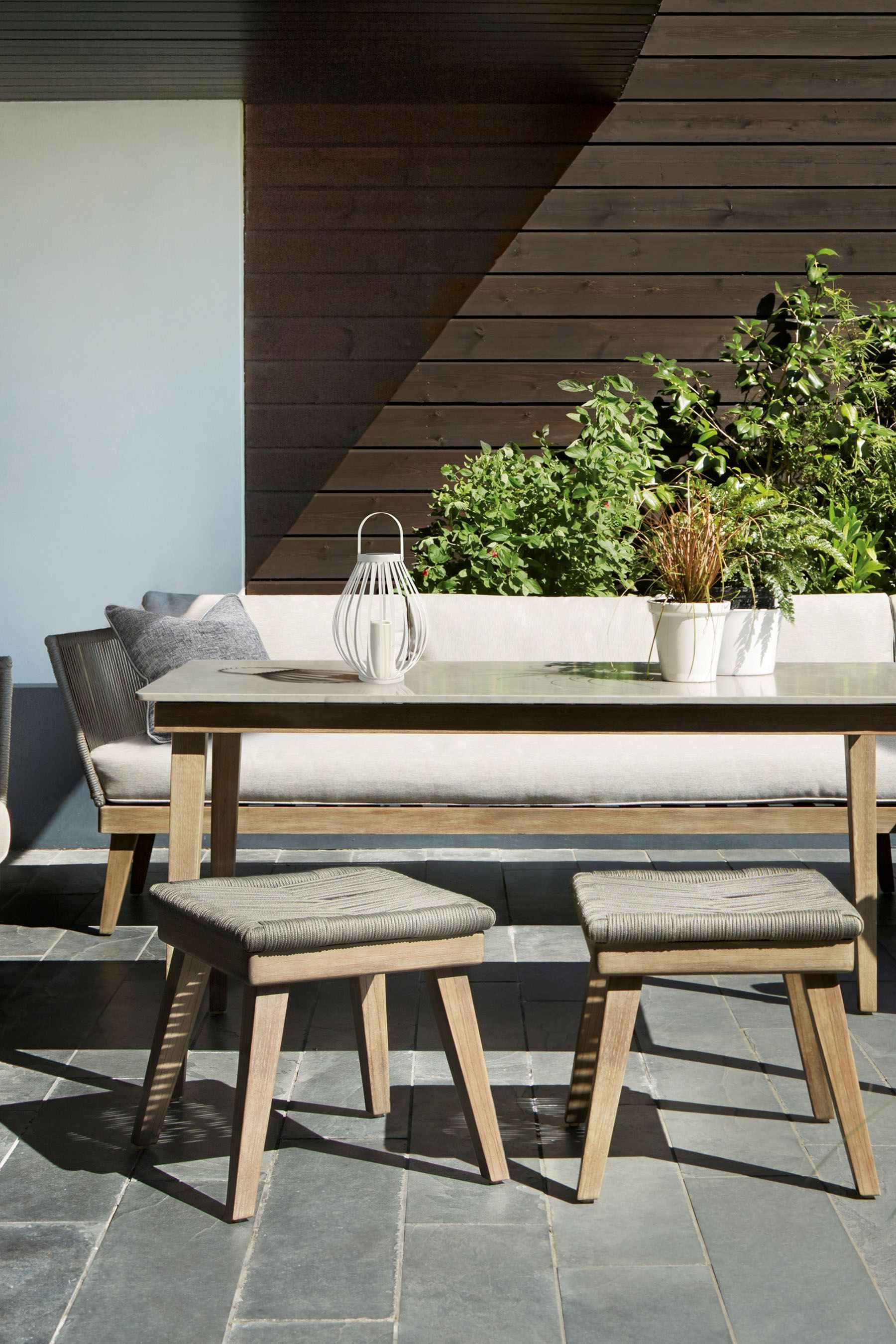Next Bali Living And Dining Garden Set  Clearance patio furniture