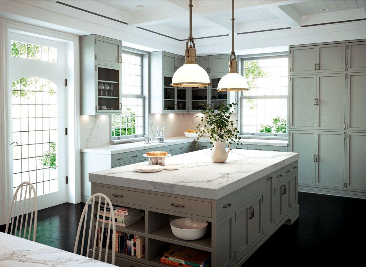 Best Caesarstone Classico 5131 Calacatta Nuvo™ Kitchen 400 x 300
