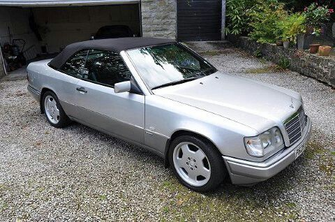Mercedes w124 sportline convertible mercedes benz w for Mercedes benz w124 for sale