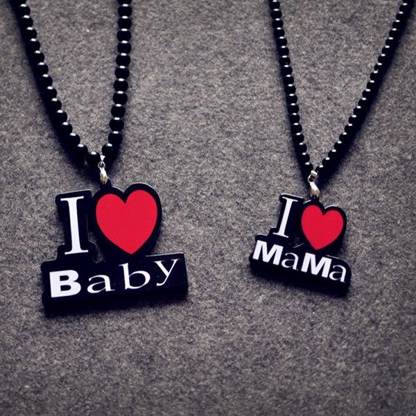 Sweet I Love Mama I Love Baby Necklaces(Price for One Pair) #jewelry #fashionjewelrystores #jewelryfashion #fashionjewelrywebsites #discountfashionjewelry #fashioncostumejewelry #goldfashionjewelry #fashionjewelrystore #fashionjewelryaccessories #fashionjewelrysets #trendyfashionjewelry #newfashionjewelry #fashionjewelryearrings #fashionandjewelry #fashionjewelrymanufacturers #mensfashionjewelry #buyfashionjewelry #jewelryinfashion #highfashionjewelry #costumefashionjewelry…