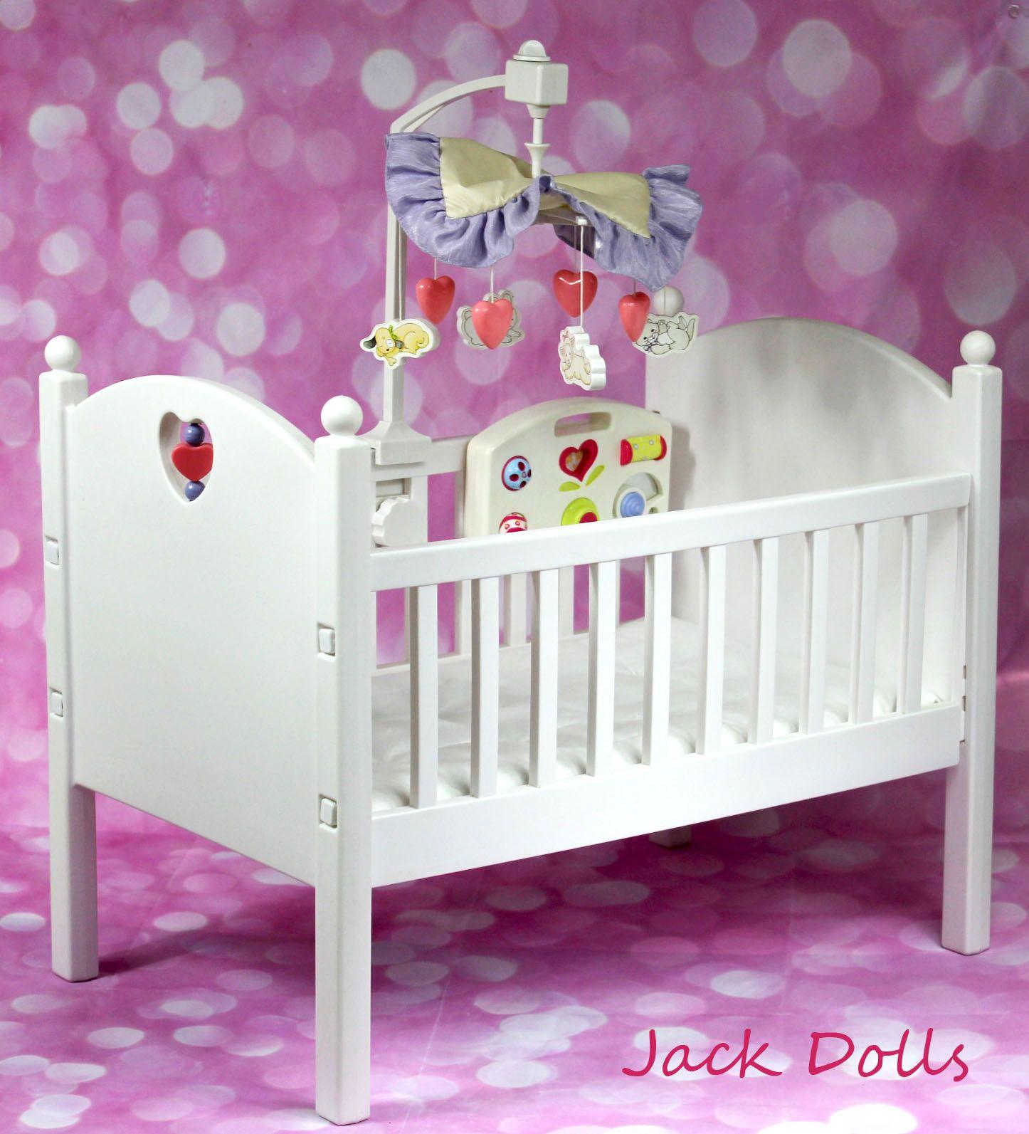 Bitty Baby Crib Toy baby crib, Bitty baby american girl