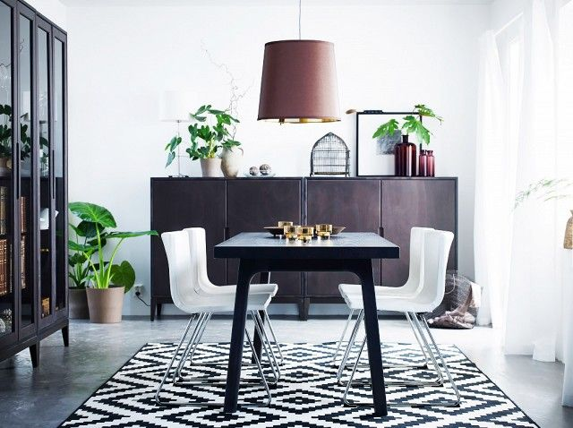 8 Insanely Cool Rooms That Started With an IKEA Rug | Idee
