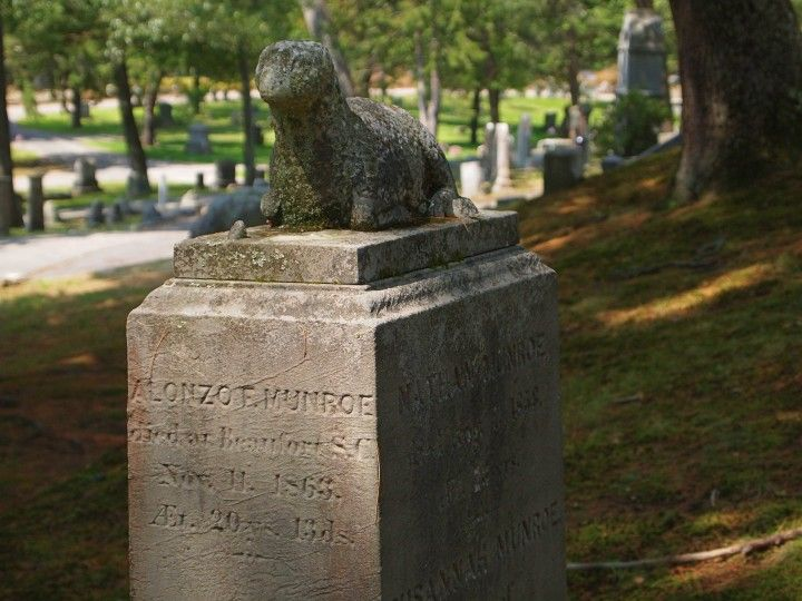 Sleepy Hollow Cemetery in Concord - Spiritual Travels