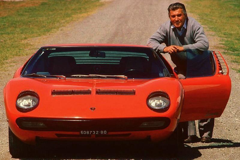 Lamborghini Miura | ... Lamborghini Calor. In 1980, He Founded Lamborghini  Oleodinamica