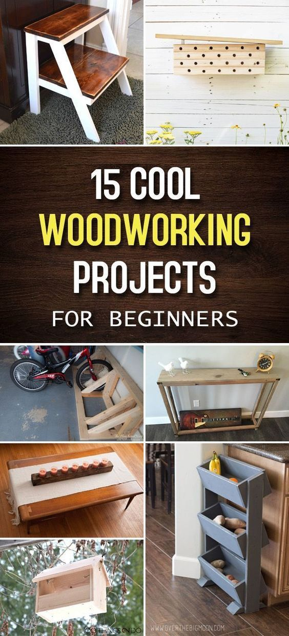 15 cool woodworking projects for beginners on useful diy wood project ideas id=72097