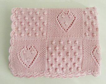 Popular items for knit baby blanket on etsy knitting pinterest knit baby blanket dt1010fo