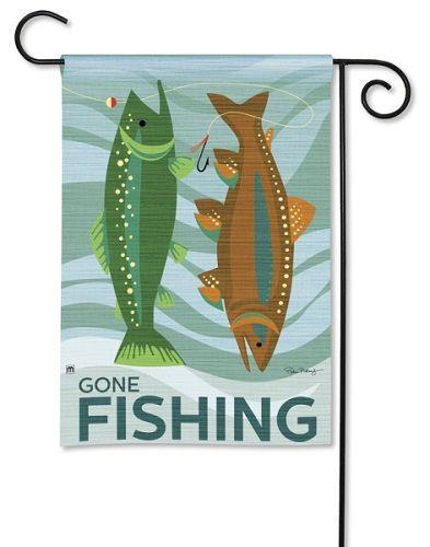 garden house flags. Magnet Works Garden Flag - Fishing Decorative At House Fl GardenHouseFlags Flags S