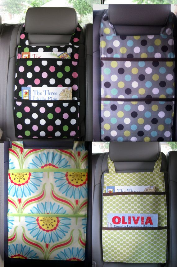 Organizer for the car -- good DIY