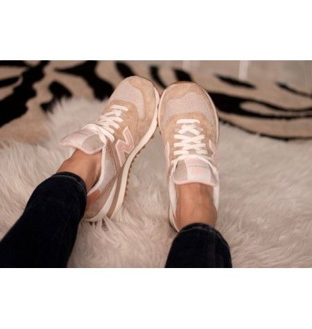 new balance mujer color beige