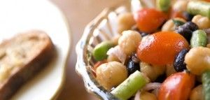 SEASONAL BEAN SALAD INGREDIENTS 1 cup dried kidney beans, soaked 6-8 hours or overnight 3 cups fresh water 2 inches kombu, sea vegetable 1 tsp. sea salt CLICK IMAGE for FULL RECIPE!