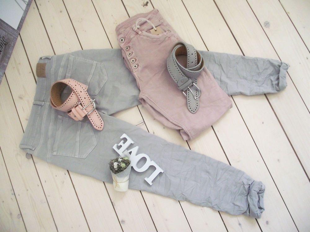 Details zu NEU Jeans *MELLY \ CO* Denim ITALY rosa rosé Gr M - küchenfronten neu beschichten