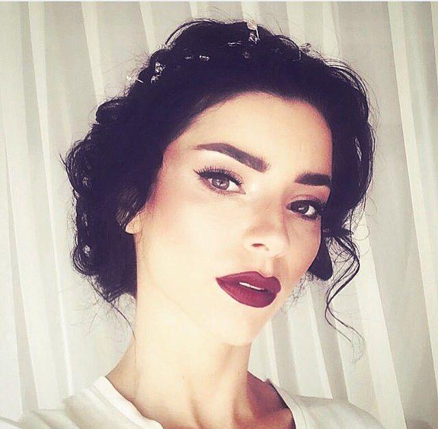 merve bolugur At her wedding | Journal of Turkish Actors ...