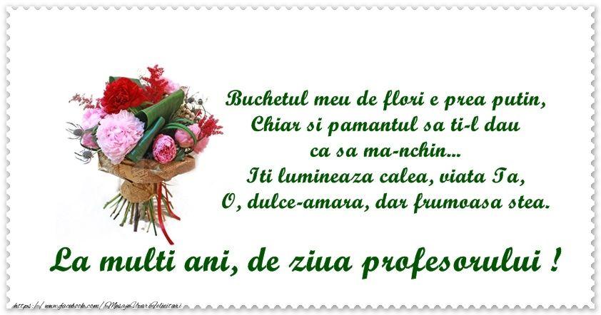 Pin On Felicitari De Ziua Profesorului