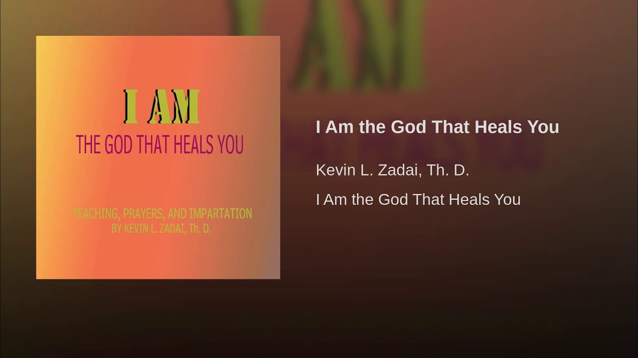 I Am the God That Heals You - YouTube | The Messiah