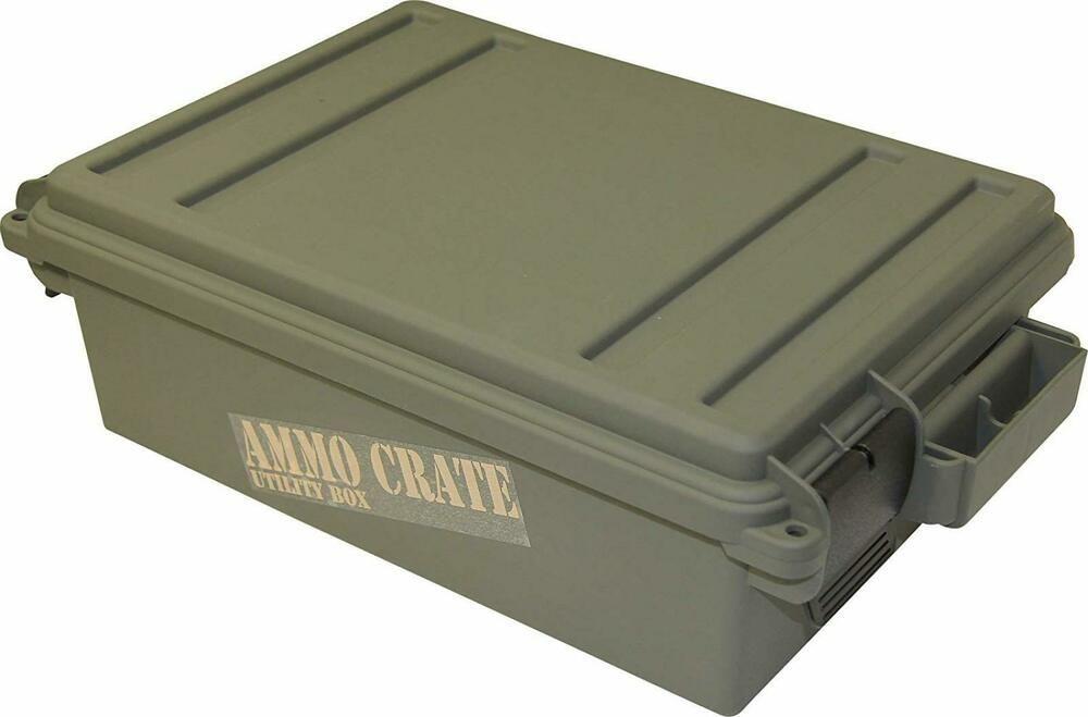 Military Ammo Crate Utility Box Ammo Box Plastic Ammunition Storage Case 65 LBS