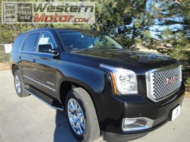 We Have A Black Gmc Yukon Denali In Stock For You To Drive Home