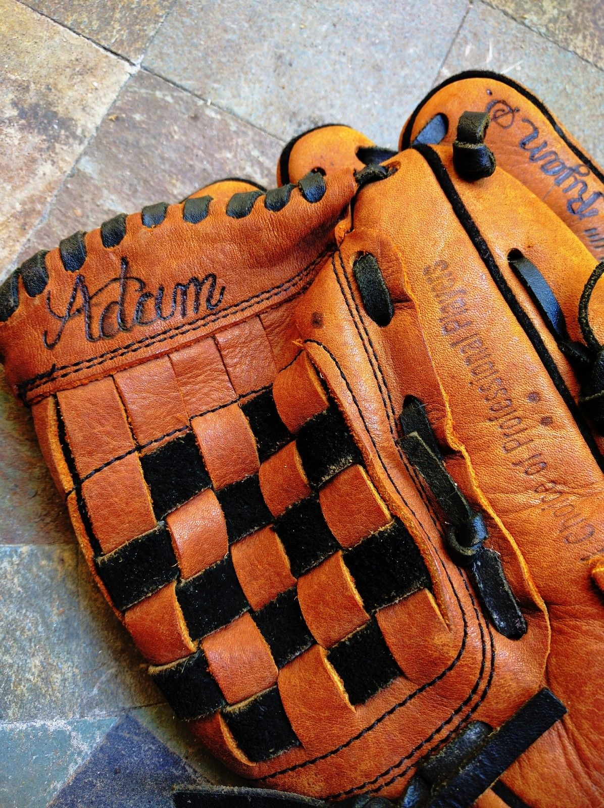 Leather Engraved And Embossed Baseball Mitts Are A Favorite Of Both Kids And Adults Let Us Create A Leather Engraving Baseball Monogram Unique Items Products