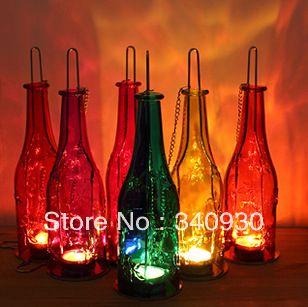 Beer Bottle Decoration Fashion Tieyi Mousse Beer Bottle Decoration Lamps Lantern Home