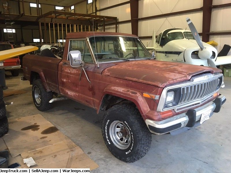 82 Jeep J 10 Sold Jeep Truck Jeep Jeep Parts For Sale
