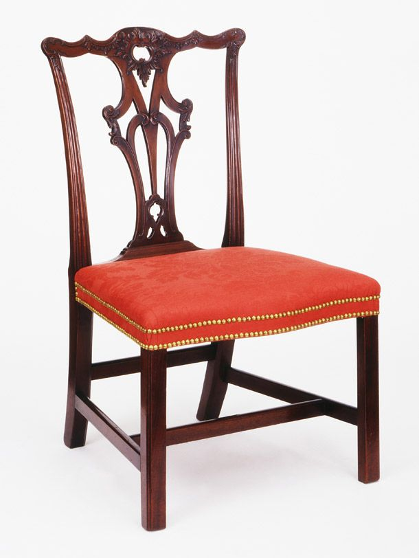 Side Chair Thomas Chippendale England Museum no