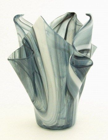 Fused Glass Vase