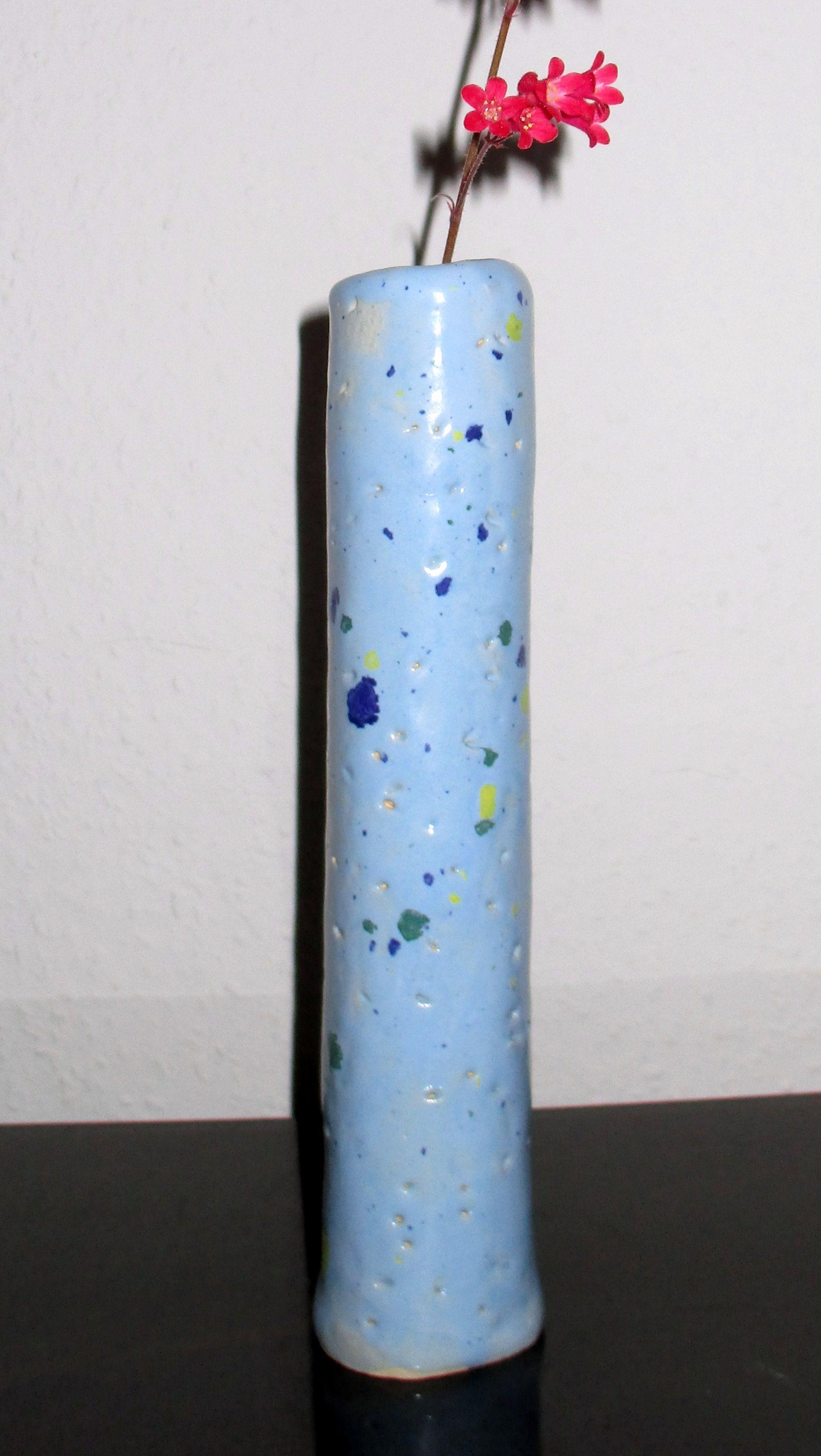 Blumenvase aus Keramik