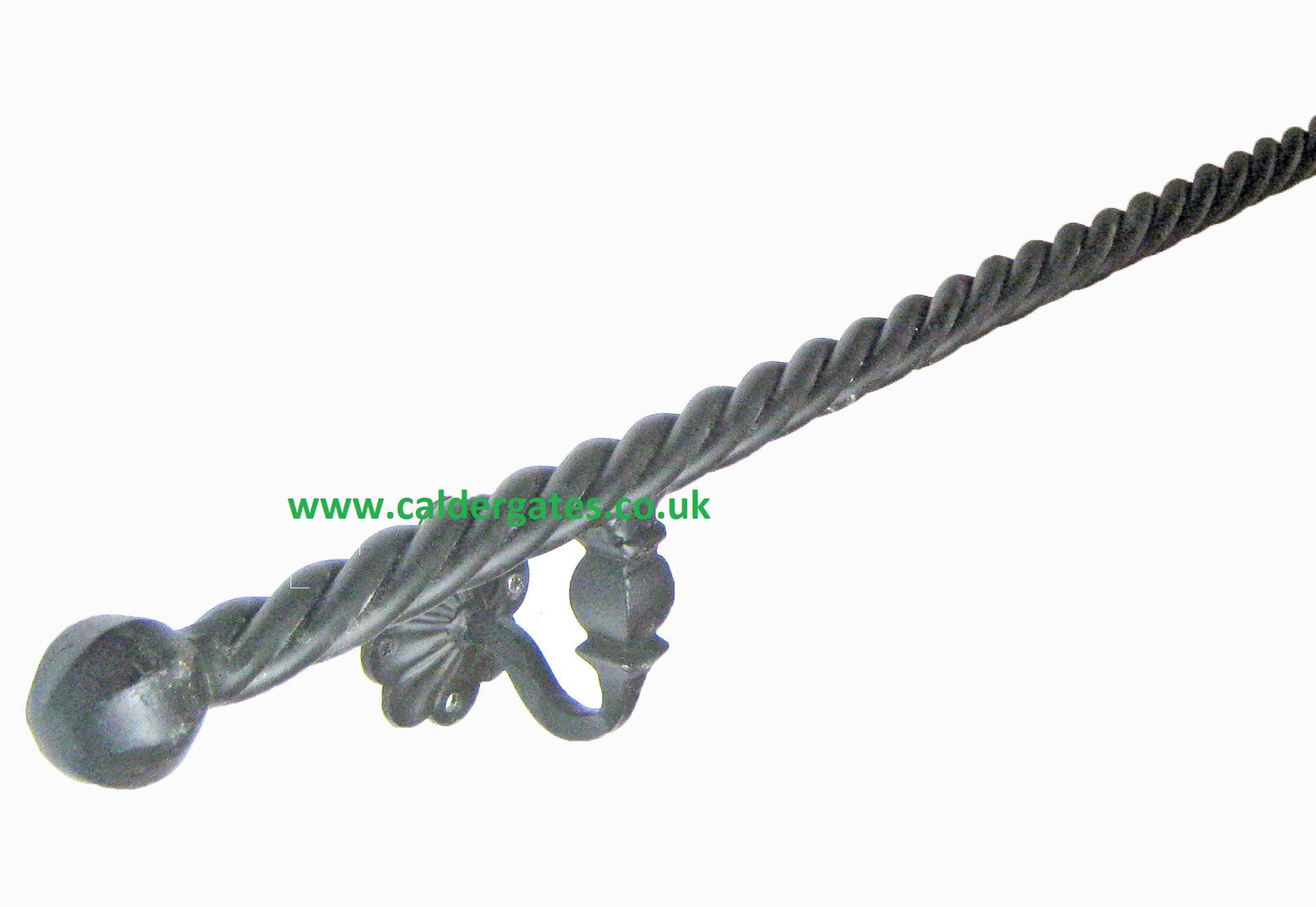 Best Wrought Iron Metal Rope Twist Handrail(画像あり) 640 x 480