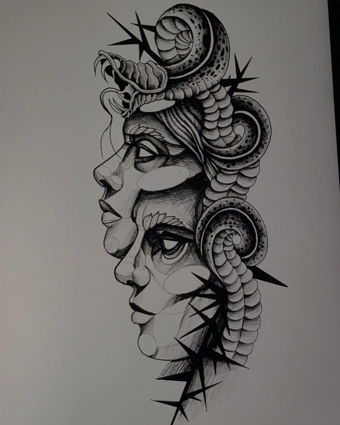 #tattoo #tattoos #blackwork #sketch #tattoodesign #tattoodesigns #tattoodesigner #tattoolife #tattoomagazine #tattootime #tattoodo #tattooer #tattooartist #