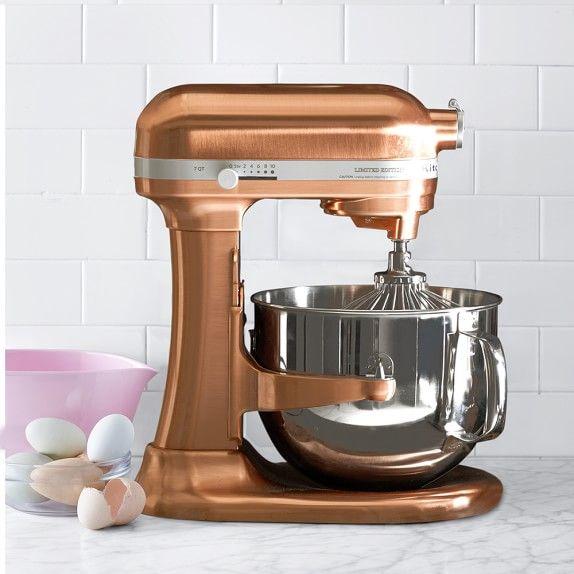 Kitchenaid Pro Line Copper Stand Mixer 7 Qt Williams Sonoma