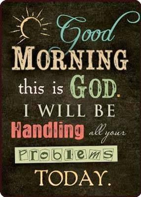 Could make this into a wall hanging and put near coffee pot. What a great reminder and an awesome way to start the day!