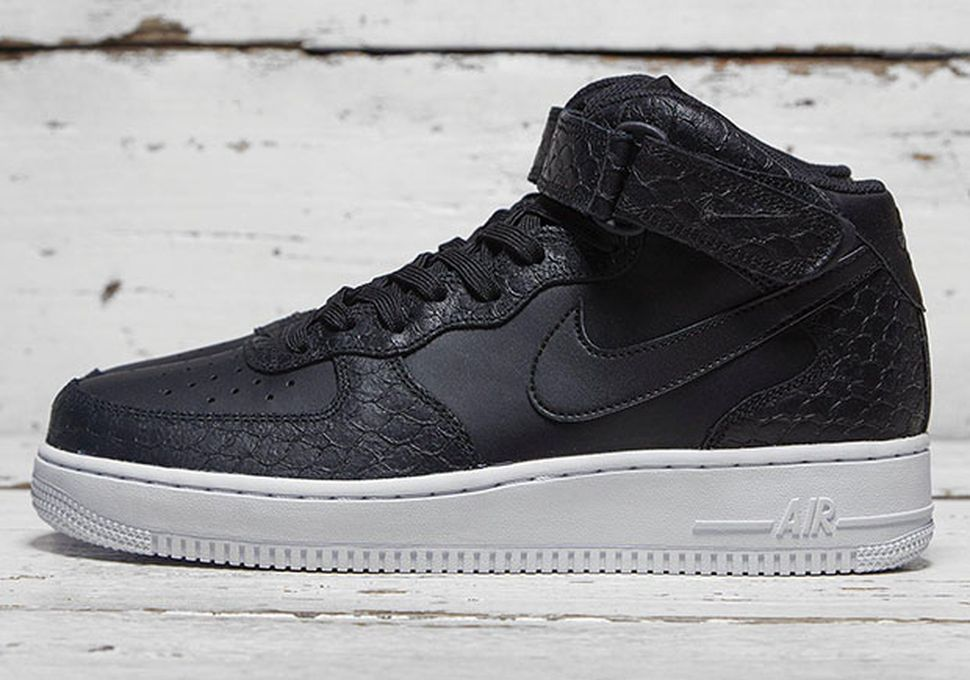 nike air force 1 anthracite/wolf grey/black screen