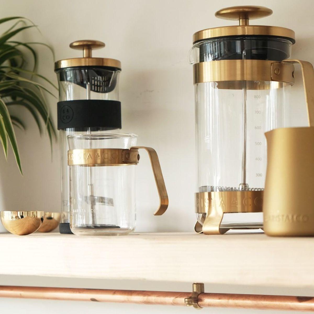 8カップ用 手軽に香り高いコーヒーが淹れられる 洗練されたデザインの フレンチプレス 8cup Plunge Pot 2020 フレンチプレス コーヒー コーヒー 淹れ方