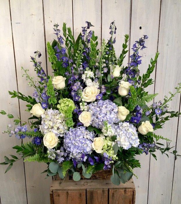 Sympathy & Funeral Flowers Oceanview Basket Flower
