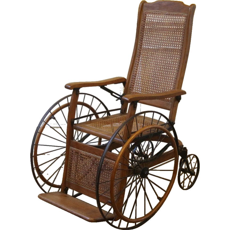 Antique Oak Wheelchair. - Antique Oak Wheelchair. Pollyanna Pinterest