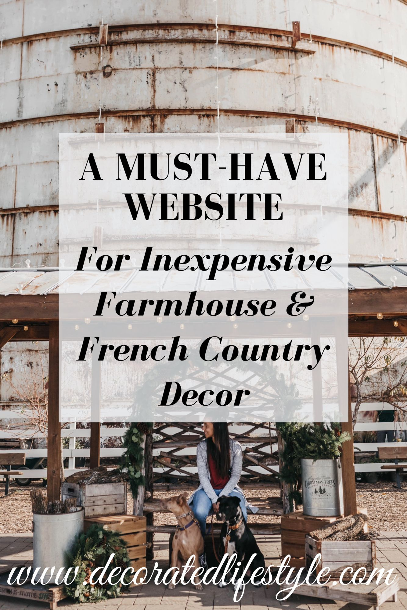 Photo of A MUST-HAVE Website for Inexpensive Farmhouse & French Country Decor